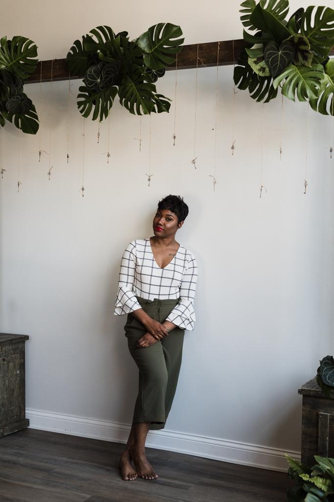 Chicago branding photographer Katharine Hannah works with floral designer Brittney Kee