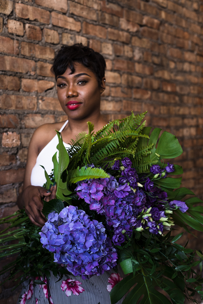 Chicago floral designer Brittney Kee photographed by Katharine Hannah