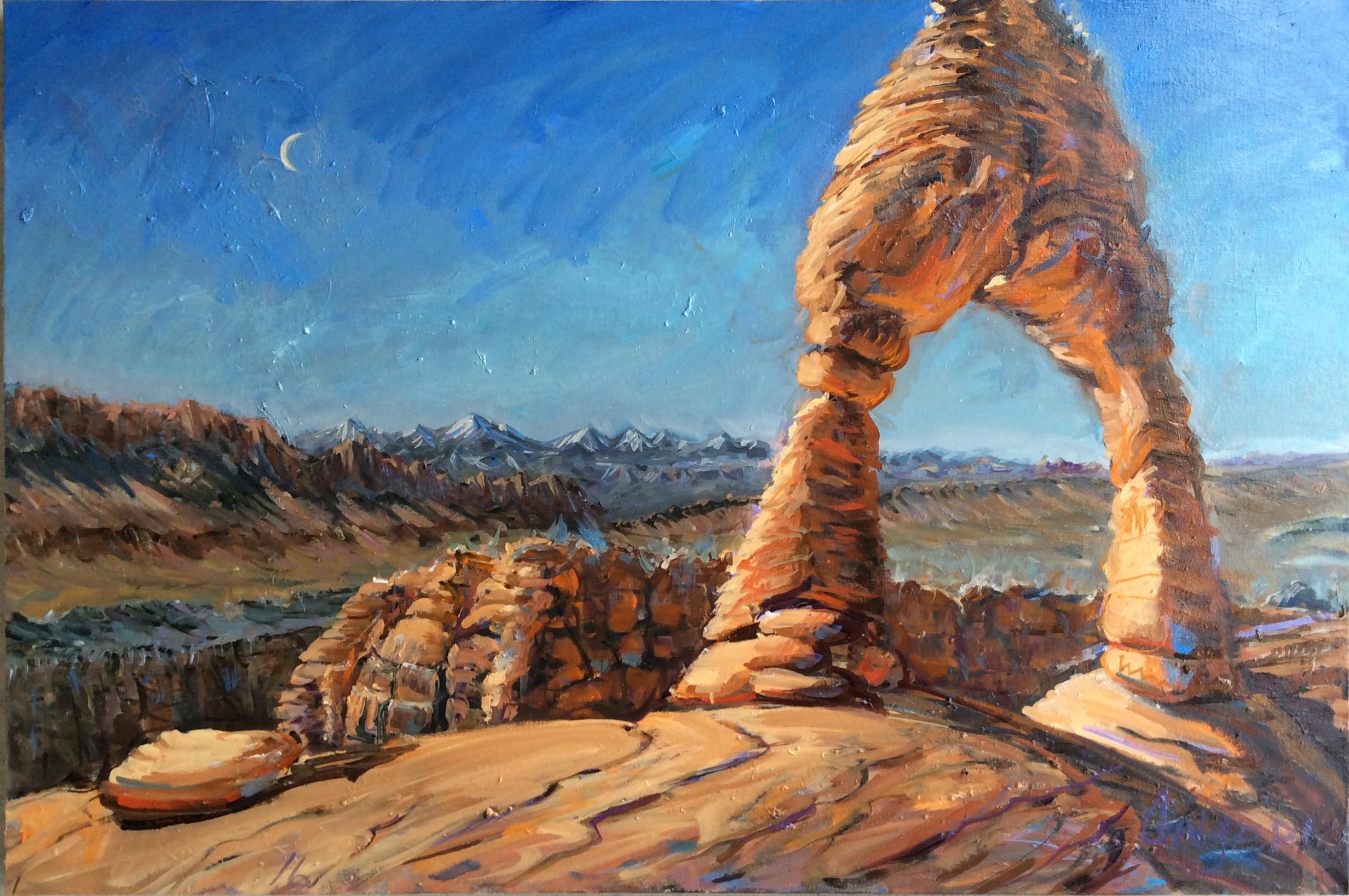 The Hills Have Eyes  24 x 36 inches, oil on canvas