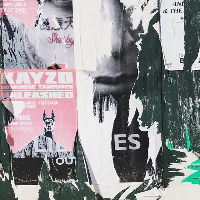 #decollage #layers #pinkandgreen #inspiration