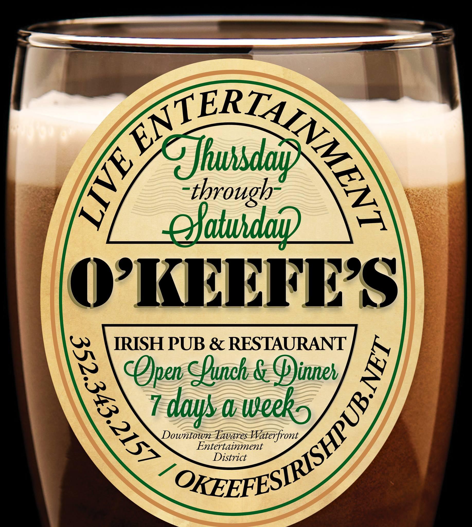 Copy of O'Keefe's Irish Pub & Restaurant