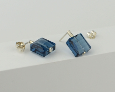 Small stud earrings from new GEOMETRY collection