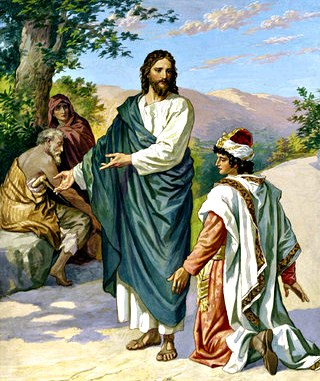 'Go and sell whatever you have and come follow me' ~ Mark 10:17-30