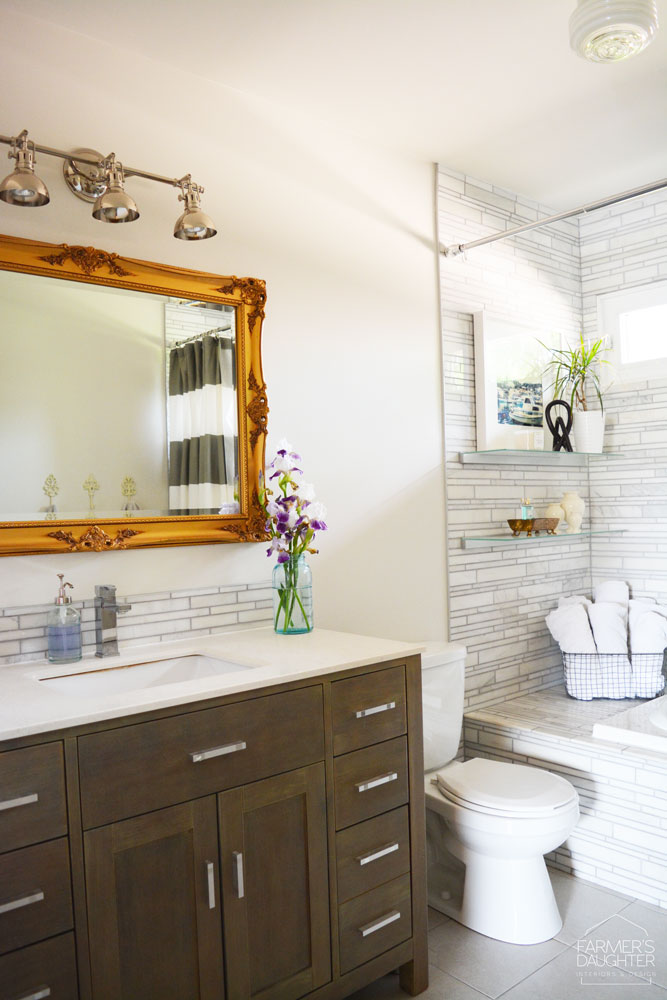 Farmers Daughter Interiors - Allen Drive Project - Bathroom - AFTER - 7
