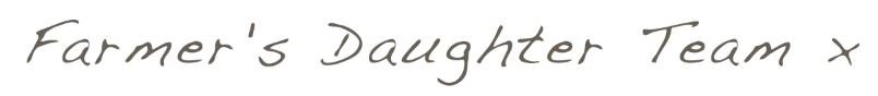 Farmer's Daughter Team logo