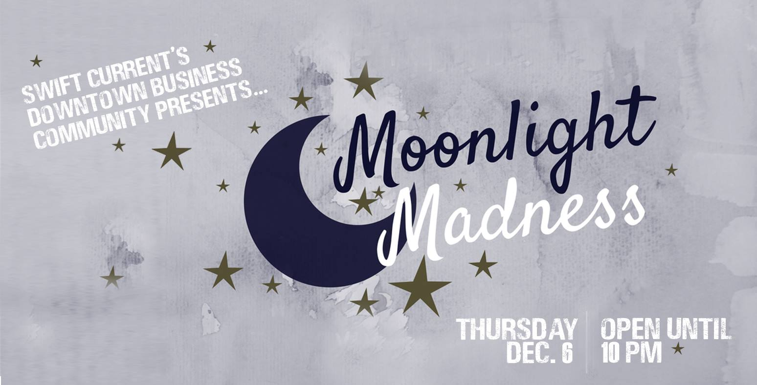 Moonlight Madness is the perfect opportunity for you to take advantage of local stores extending their opening hours! Visit us for some FREE hot apple cider! Click  here  for more info