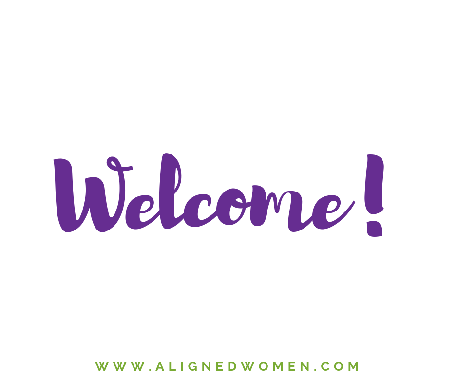 Start here! This is where you can find important membership information. This information will guide you so that you can make the most out of the content, resources, and community as an Aligned Women Member.