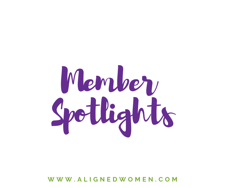 Each month we interview one of our members. Someone that we have noticed has really integrated the content of the membership into their lives and their practice.