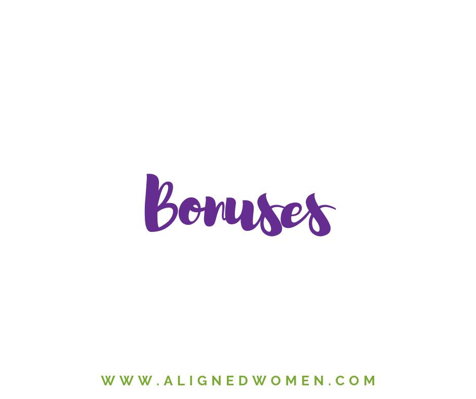 Each Quarter we announce a special bonus to our members.