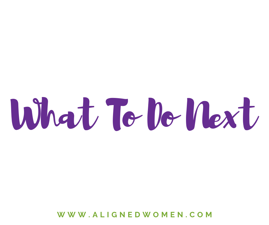 Now that you have the New Member Checklist and read through some of the important membership info, the next step is to start working through the Aligned Women Success Path.