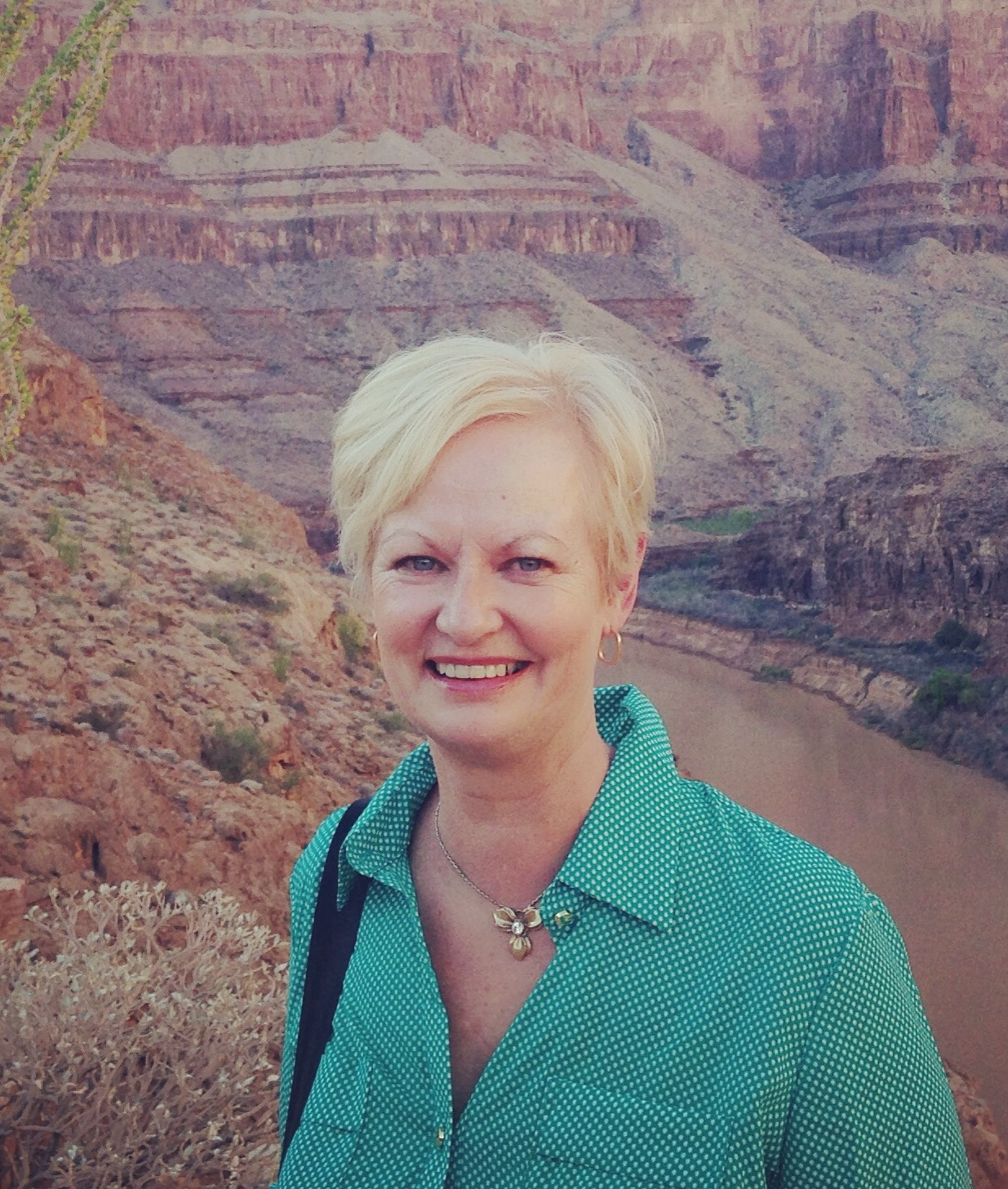 Angela McPhillips (at the Grand Canyon!)