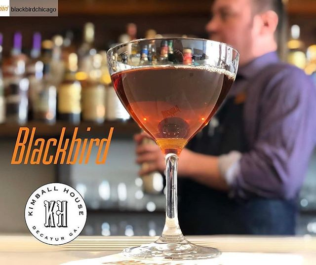 Here's an opportunity to experience Kimball House, James Beard finalists for Outstanding Bar Program, in a more intimate setting than our late night Bar Bash!  Check them out at our sister restaurant, Blackbird on Saturday afternoon, 5.4.19. They'll be serving five cocktails from their highly accoladed program alongside exquisite hors d'oeuvres from Blackbird Executive Chef Ryan Pfeiffer. . Link to more info: http://www.blackbirdrestaurant.com/#new-page . . . #jbfawards #collaboration #takeover  @kimballhouse  @blackbirdchicago  @oneoffhospitality  @beardfoundation