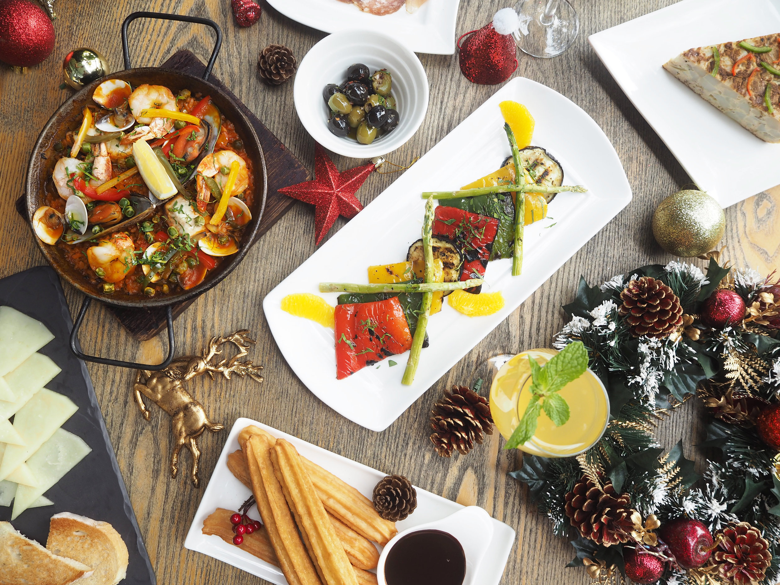 Sabio Tapas Bar /Sabio by the Sea - 2 complimentary Tapas of the day on top of each Festive Tapas Set ordered (worth S$28++)