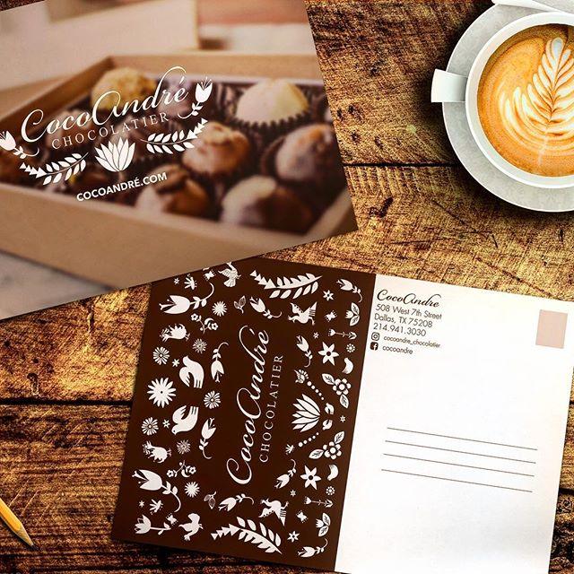 @cocoandre_chocolatier #xocolatl #oakcliff #oakcliffprint #dallas #bishoparts #jeffersonblvd #