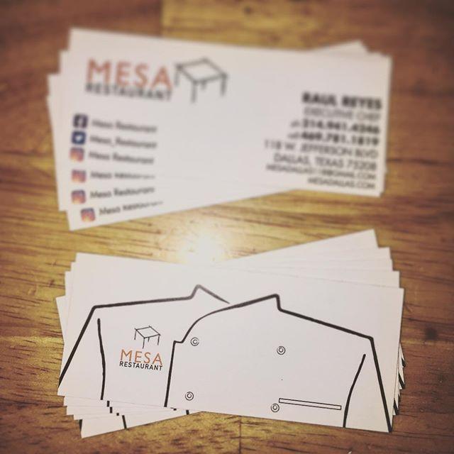 #oakcliff #bishoparts #dallas #texas #restaurant #businesscards #uptowndallas #mesa #gooakcliff #oakcliffprint #print #shop