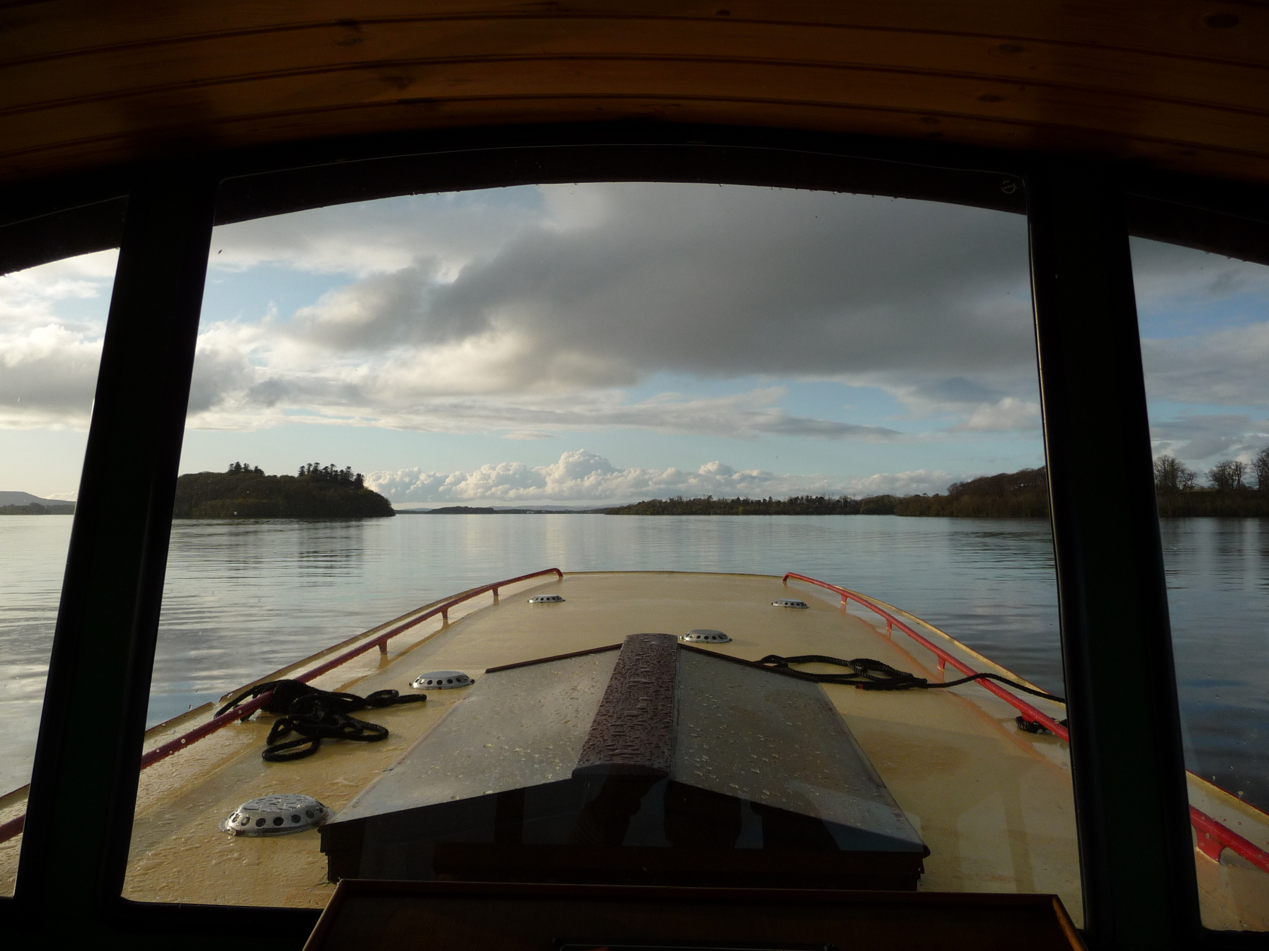 View from the wheelhouse