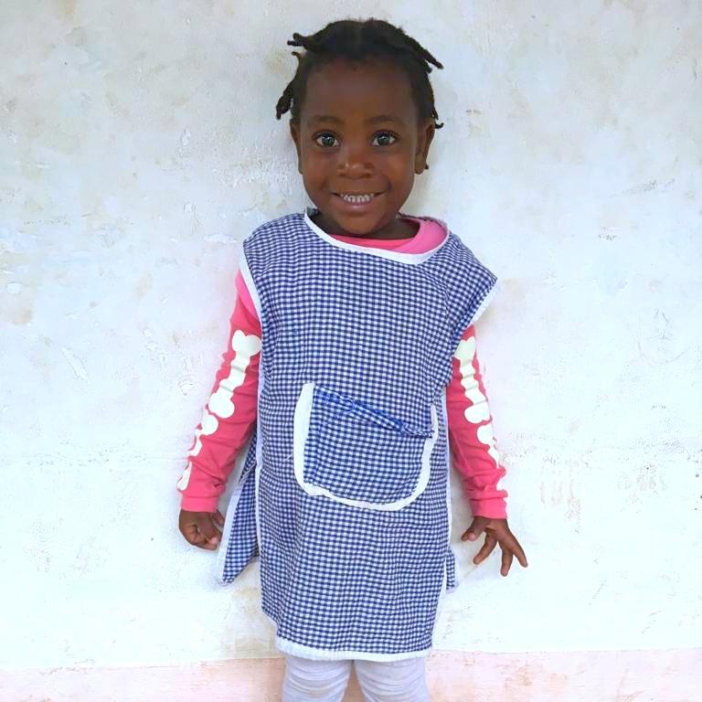 Angela, Age 4
