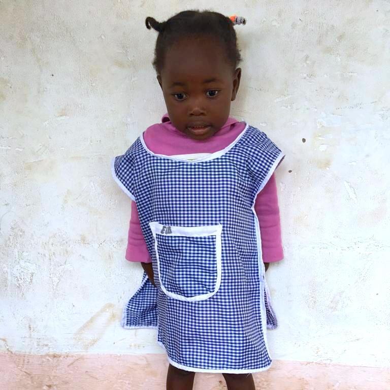 Elga, Age 3