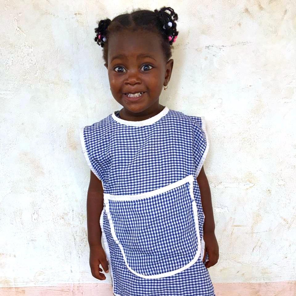 Judite, Age 3
