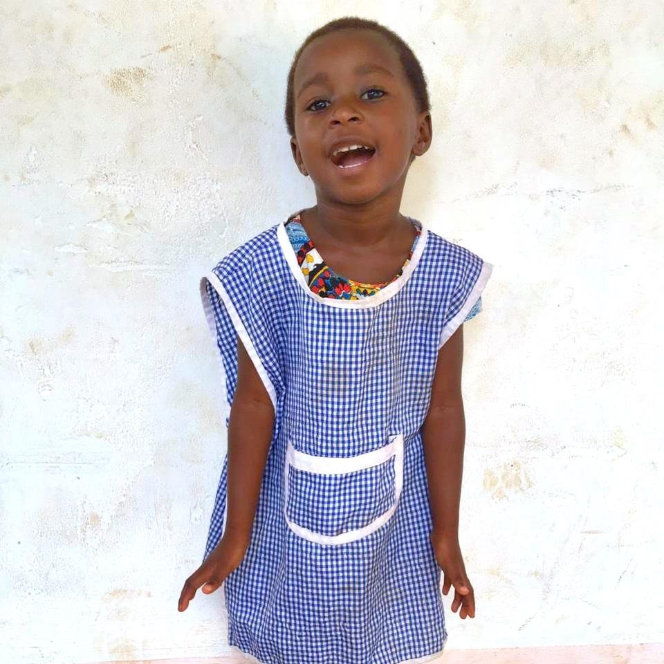 Minda, Age 4