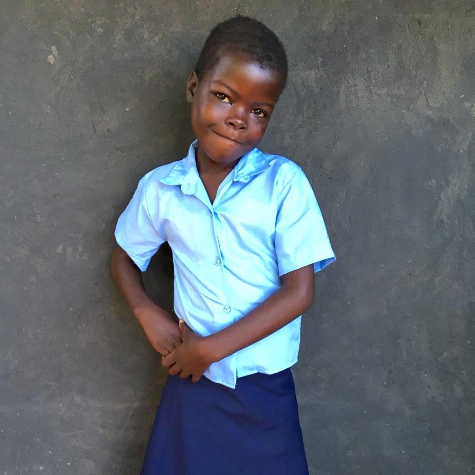 Angela, Age 8