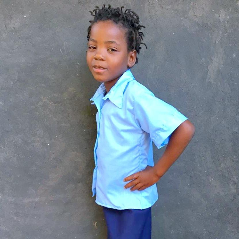 Reginalda, Age 7