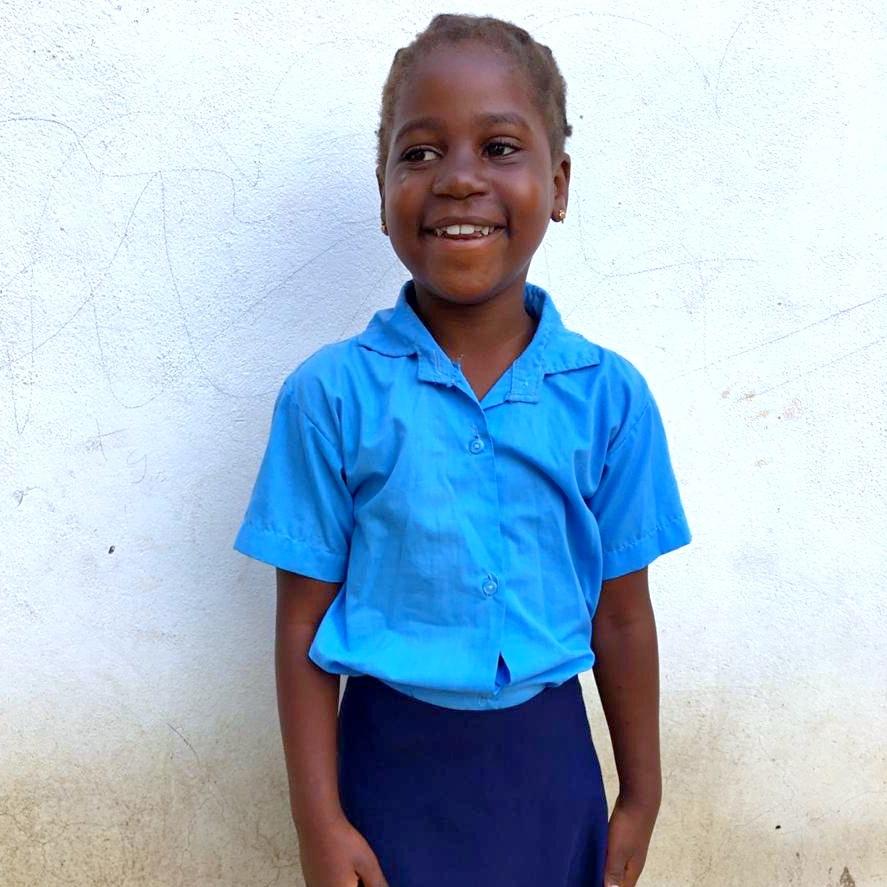 Mayita, Age 8