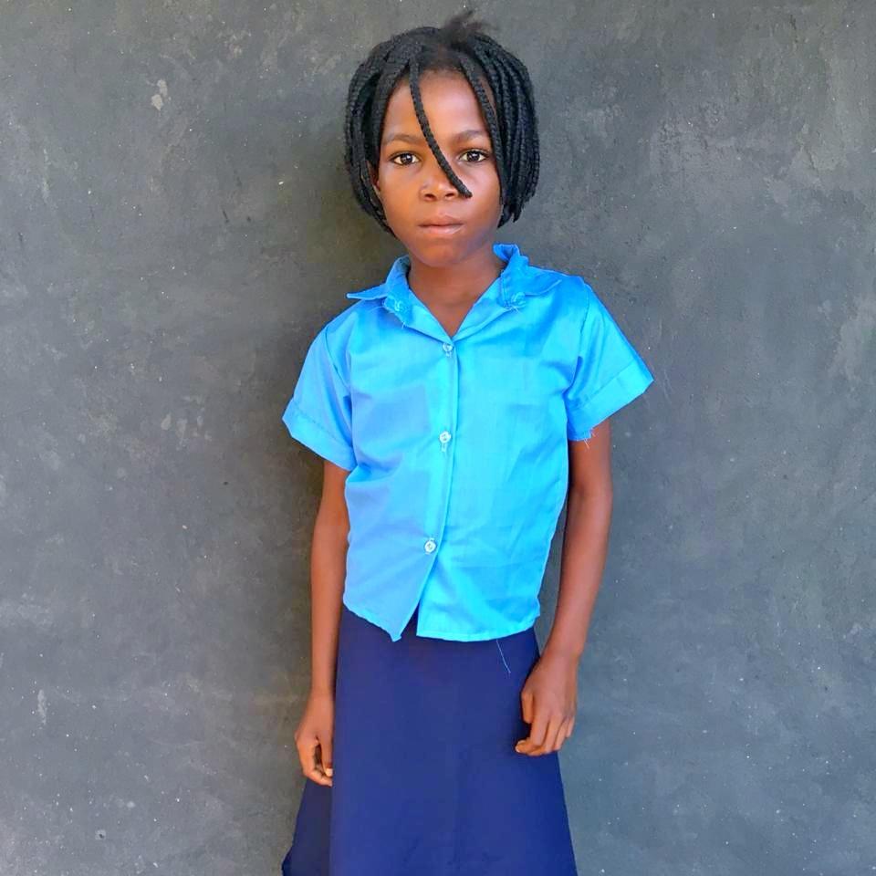 Lavina, Age 9