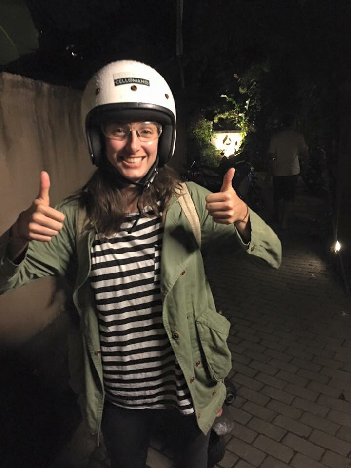 """""""Clear glasses if you'll be riding a scooter – to keep bugs out of eyes at dusk / night riding """""""
