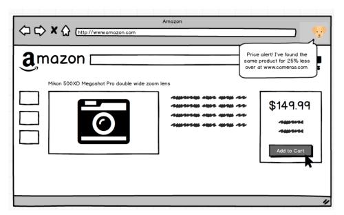Desktop Plugin for Price Comparison