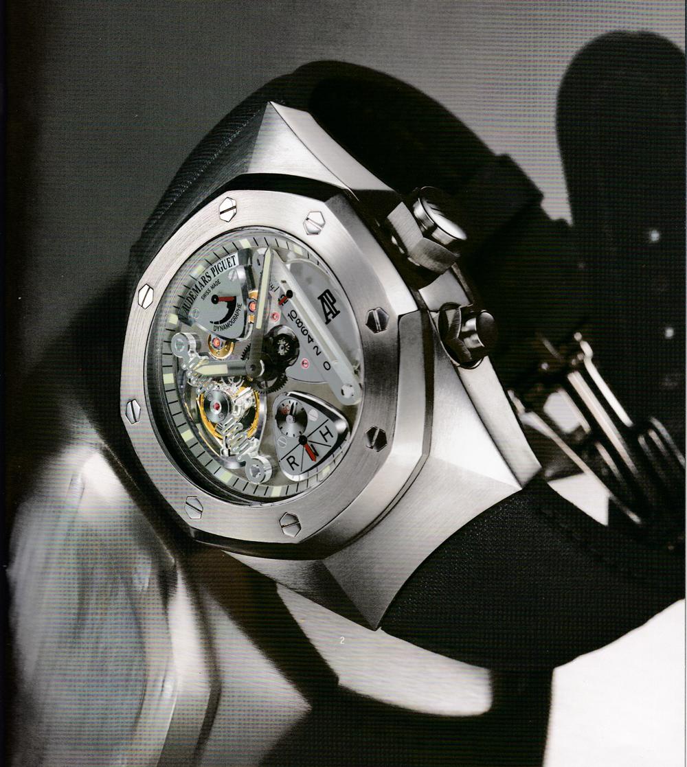 La Royal Oak Concept fut la montre qui a propulsé AP dans le 21e siècle. Nous avons initié ce projet à notre arrivée dans la marque.