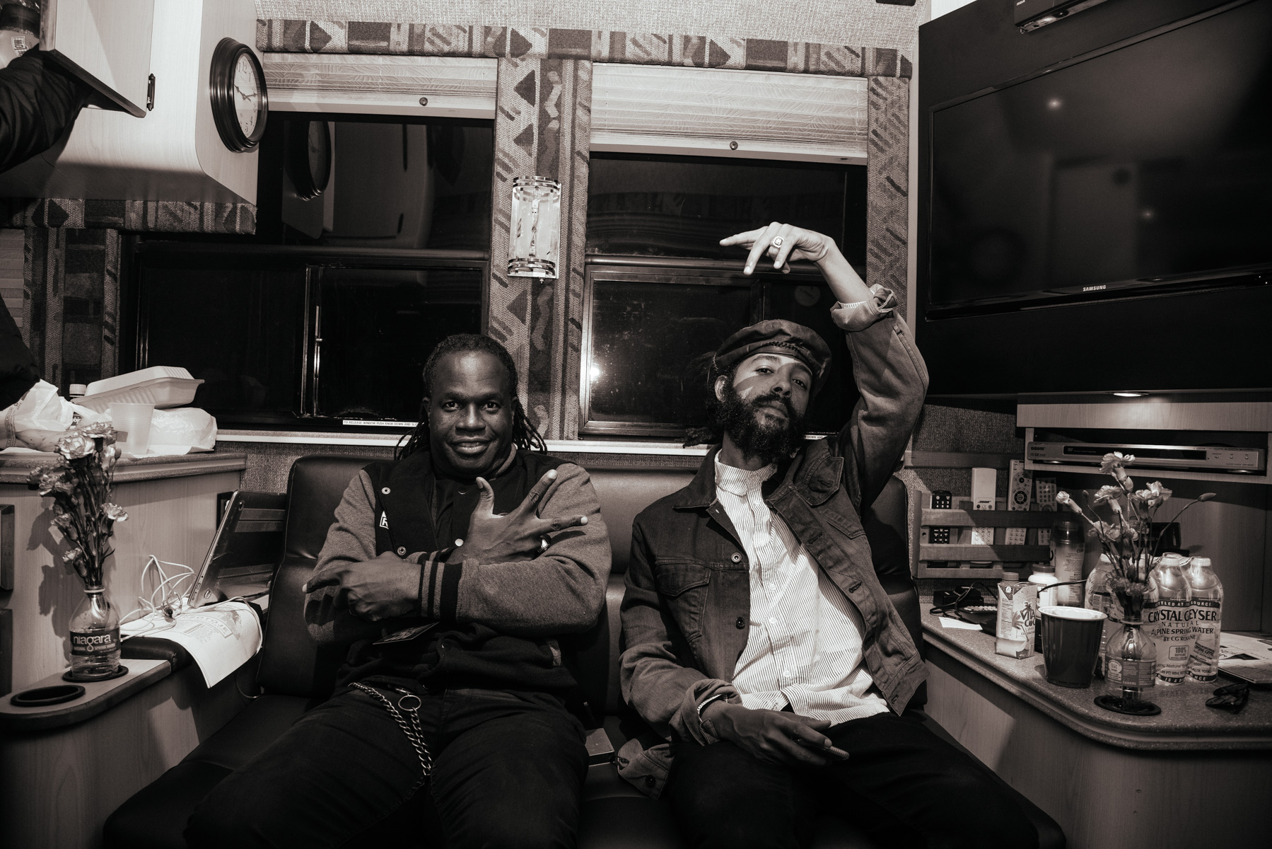 Danny Bassie and Protoje