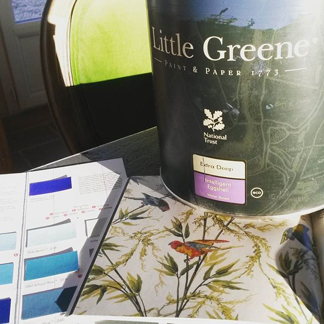 It might seem like we've been hibernating over the winter, but just more projects on the go. Look out for some re-decorating this season and a few more exciting changes on the way! #littlegreene #interiordesign #wallpaper #bordeaux #vineyardhotels #wowfactor #winetasting #holidays