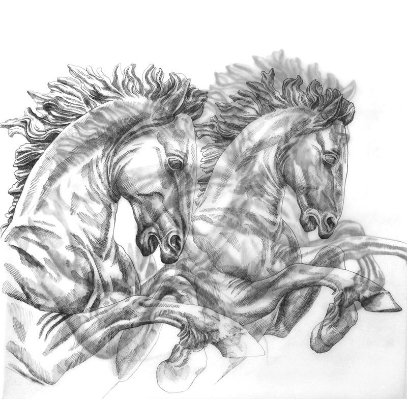 Trafalgar Horses