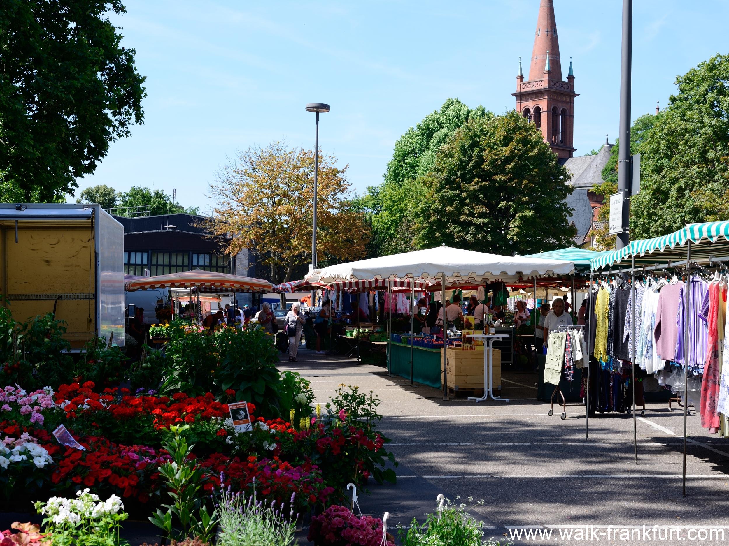 Höchst market place
