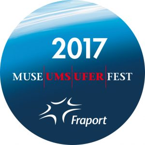 the Museumsuferfest 'button' For free Museum Entry