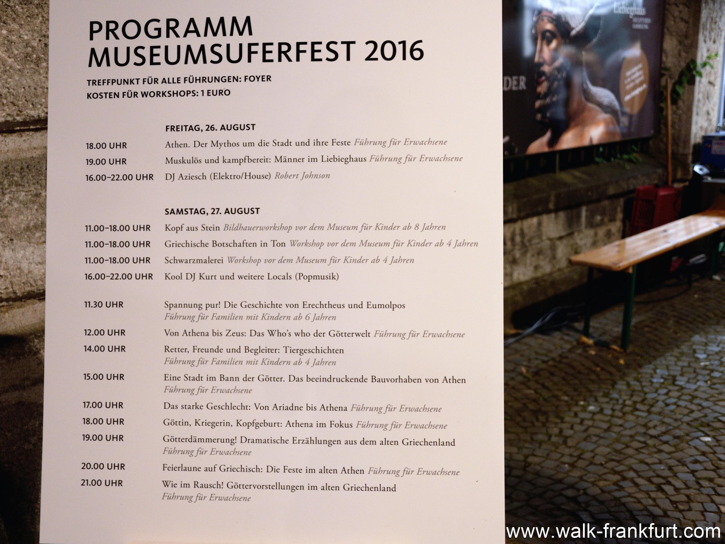 Special festival program