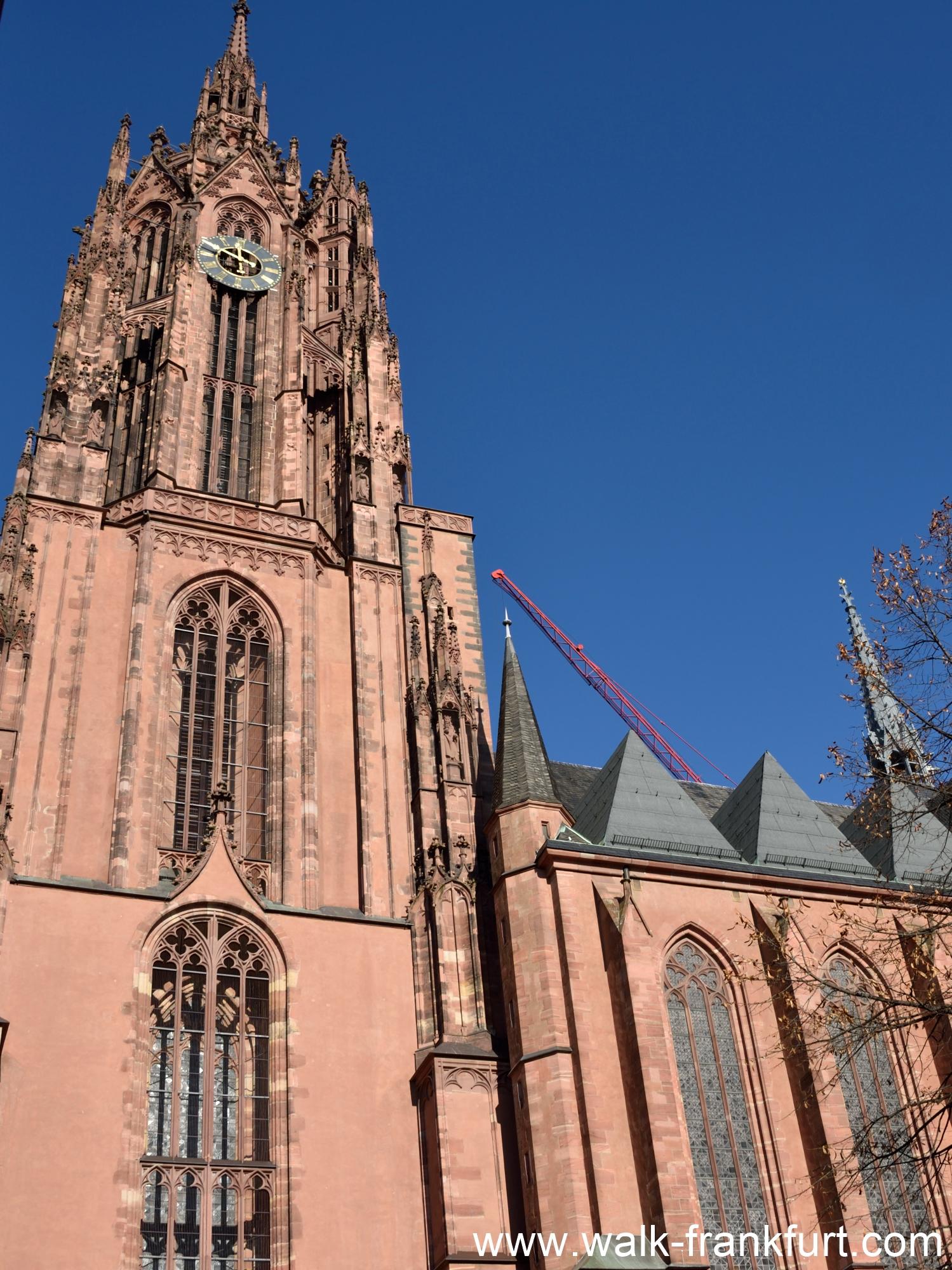 Frankfurt cathedral (Kaiserdom)