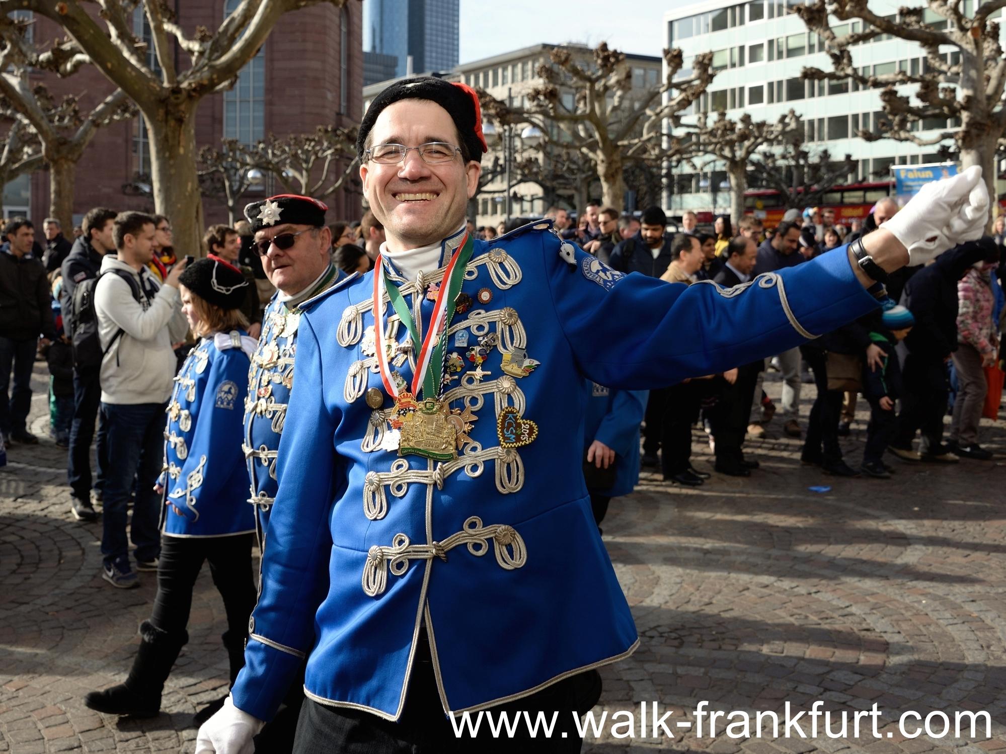 """Frankfurt Helau!"" at the Karveval Parade"