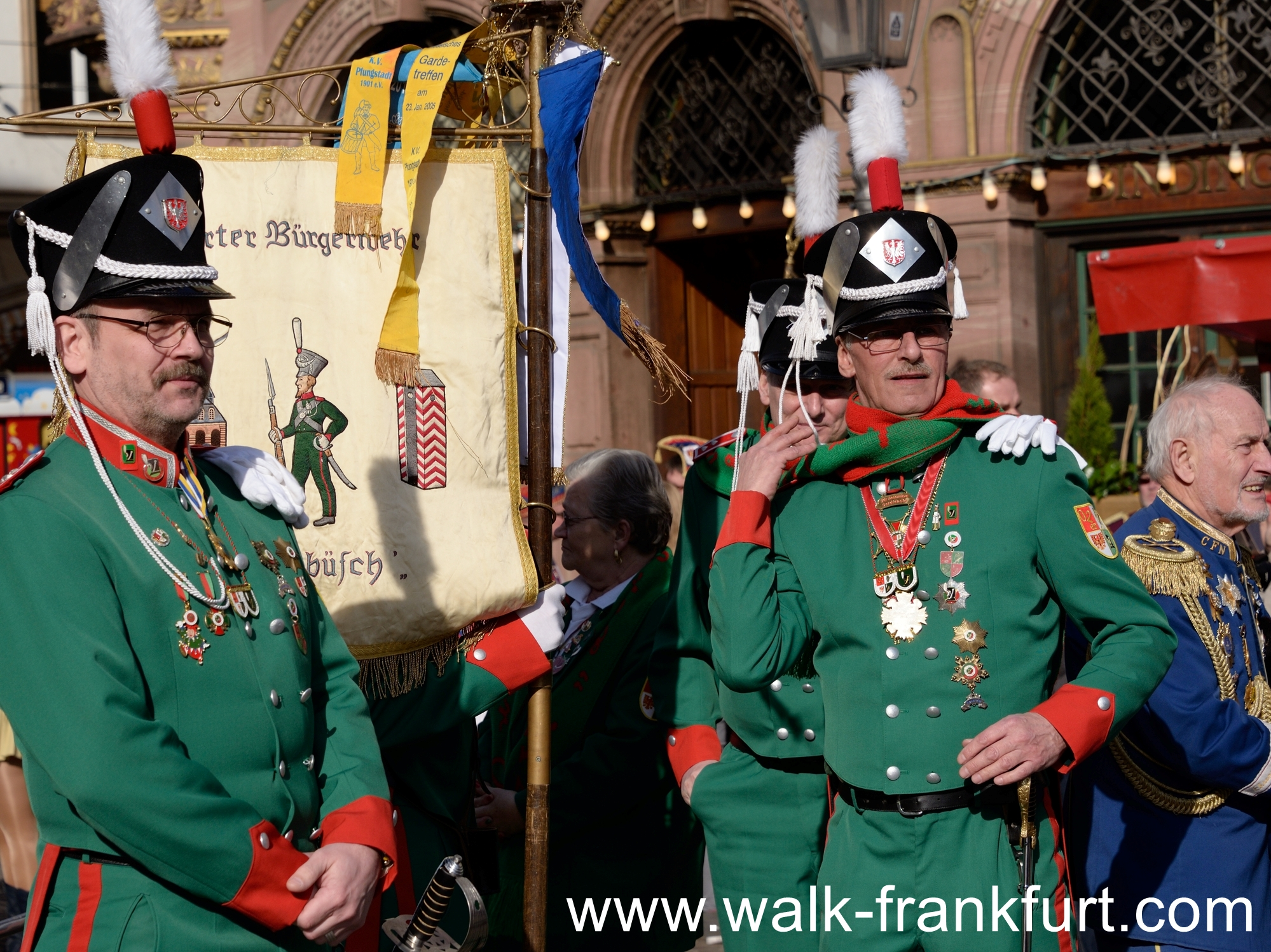 Military parade costumes