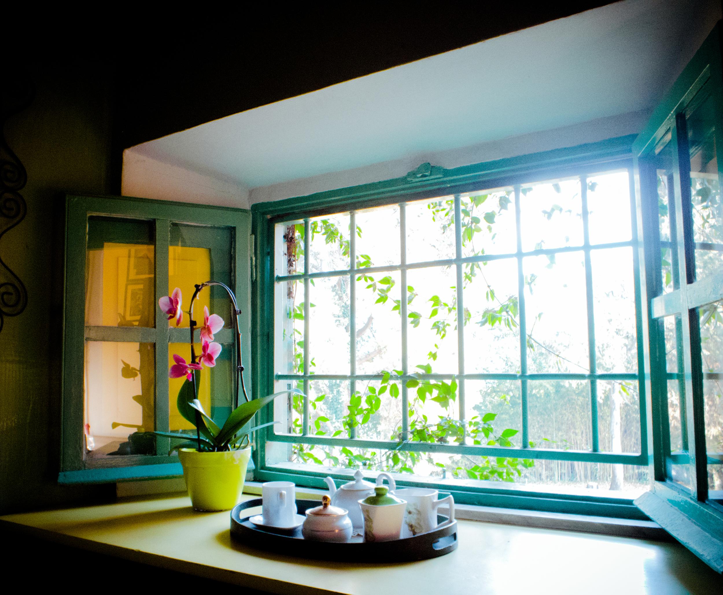 """""""The Traveller"""" double bedroom window"""