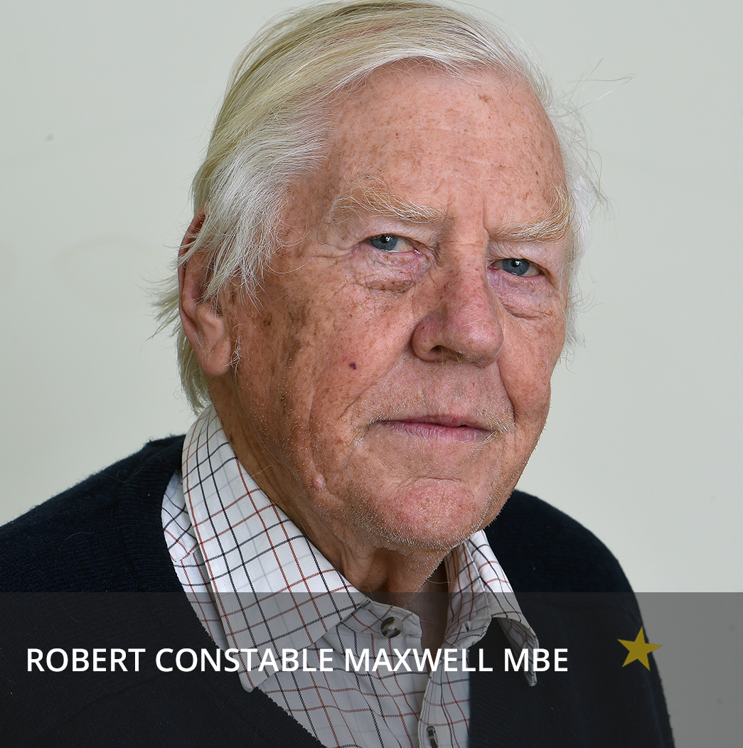 Image robert constable maxwell mbe