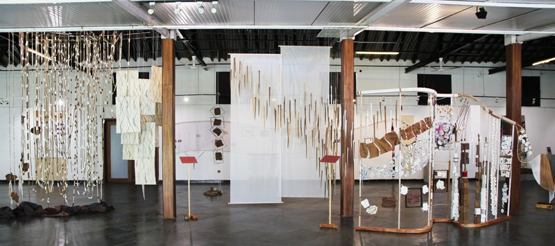 Installation View from Her - Within and Without at Mona Lisa Gallery, October 2015, Pune, India