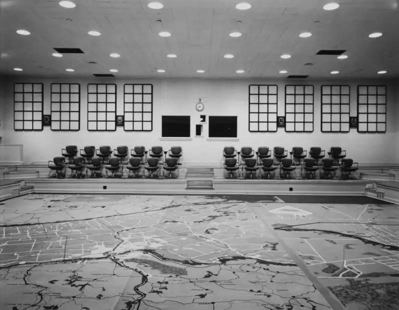 Emergency Measures Auditorium, Ontario, Canada, 1980's