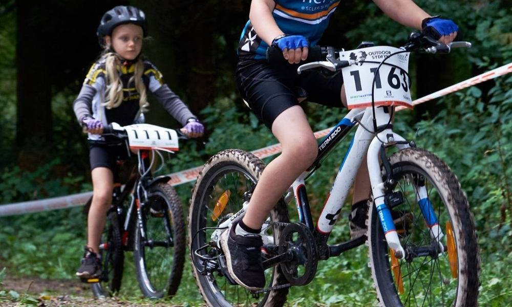 Kids mtb race -