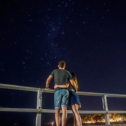 HERVEY BAY 🗺🌘💫 🇦🇺 - Here's a long exposure shot of the night sky from the Urangan Pier. • • • #instagood #nightphotography #throughthelens #agameoftones #photography #photooftheday #wanderlust #sony #sonya6000 #night #herveybay #australia #sunshine #coast #queensland #adventure #travel #travelling #iso
