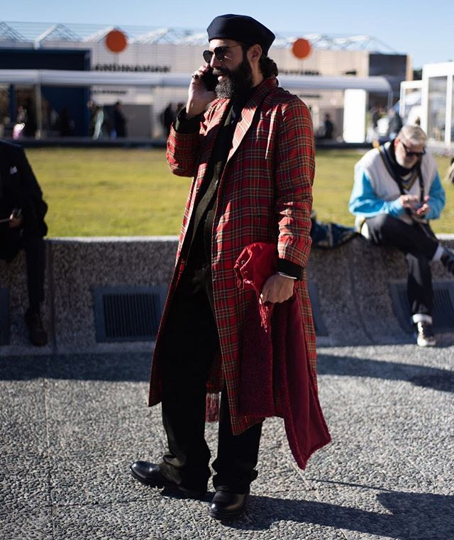 Looking to the trends at @pittimmagine #pittiuomo @ied_firenze