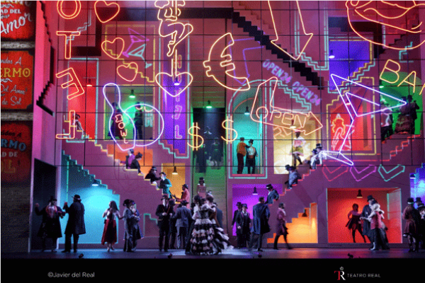 Das Liebesverbot © Javier del Real   Teatro Real