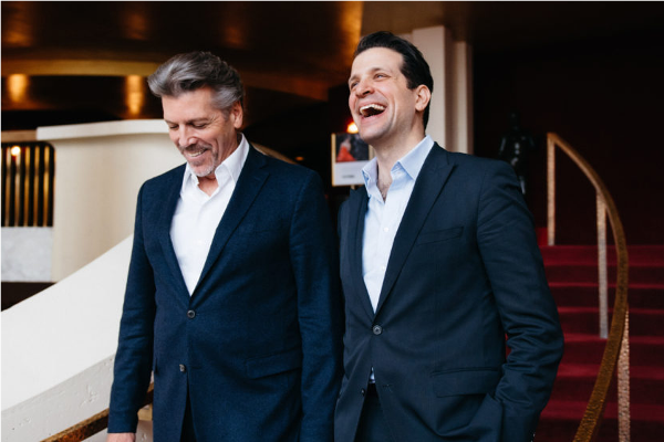Thomas Hampson et Luca Pisaroni © Jiyang Chen