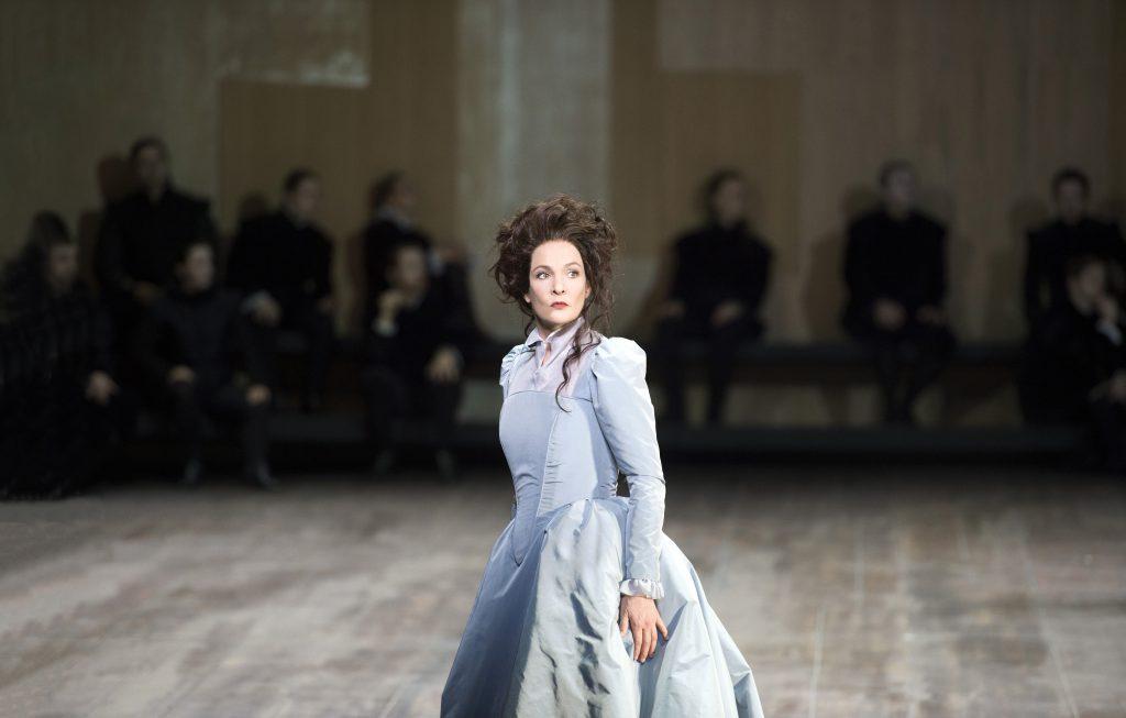 Marlis Petersen - Maria Stuarda en Janvier 2018 au Theater an der Wien
